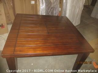 Signature Counter Height Table- Corner Damage MSRP $ 1200.00 Please Preview
