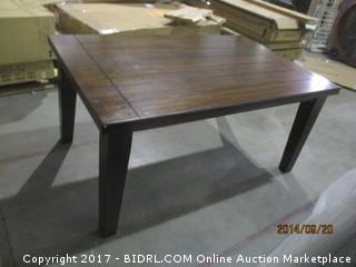 Counter Height Table- Corner damage  MSRP $600.00 Please Preview