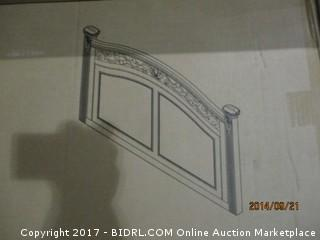 Signature Bed- King/CK  MSRP $1600.00