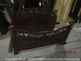 Queen Headboard/Footboard No Rails Please Preview
