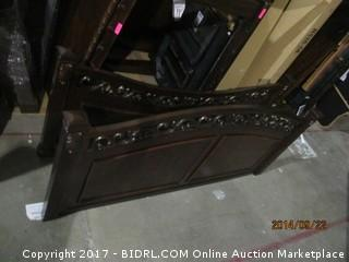 Headboard/Footboard No Rails Please Preview King
