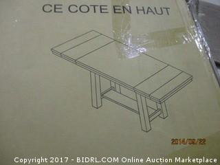 Signature Extension Table  MSRP $1500.00