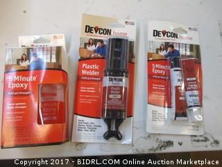 Devon Epoxy and Plastic Welder Please Preview