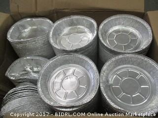 Round Aluminum Pans/some dented please preview