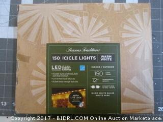 Icicle Lights Powers on Please Preview