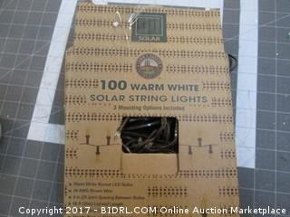 Solar string Lights Please Preview