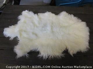 Mongolian Sheepskin Rug Please Preview