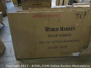 World Market Jaelyn Tufted Headboard Please Preview
