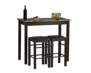 Linon Tavern Collection 3-Piece Table Set (Retail $89.00) - ACCESSORIES NOT INCLUDED