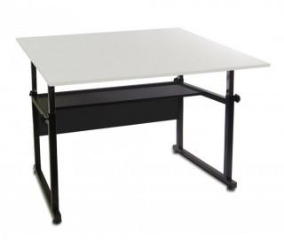 Martin Ridgeline Professional Drafting-Art Table, Black with White Top, 36-Inch by 48-Inch Surface (Retail $275.00)
