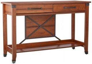 Sauder Carson Forge Sofa Table, Washington Cherry Finish (Retail $114.00)