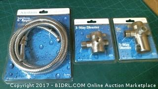 Replacement Hose and 3way Diverters Please Preview