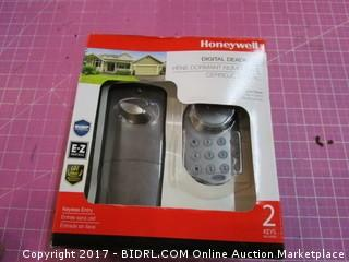 Honeywell Digital Deadbolt Please Preview