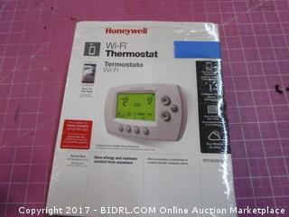 Honeywell WiFi Thermostat Please Preview