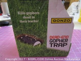 Dead End Gopher Trap Please Preview