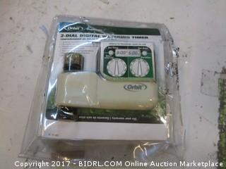 Orbit 2 dial Digital Watering Timer Please Preview