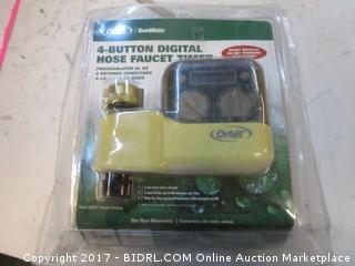 Orbit 4 Button Digital Hose Faucet Timer Please Preview