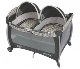 Graco Pack 'n Play Playard with Twins Bassinet, Vance (Retail $127.00)