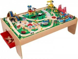 KidKraft Waterfall Mountain Train Set and Table (Retail $99.00) - ACCESSORIES NOT INCLUDED