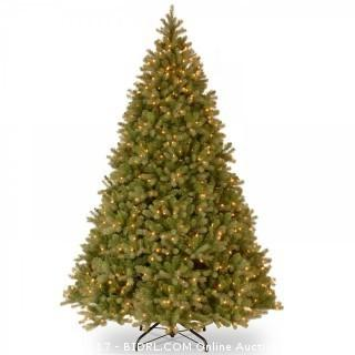 National Tree 9 ft. Downswept Douglas Fir Tree with Clear Lights (Retail $619.00)