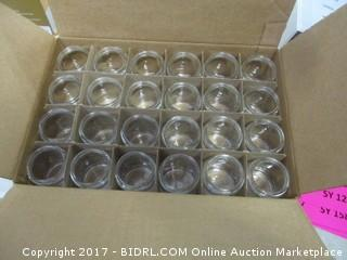 1 Case 4 oz Glass Jars