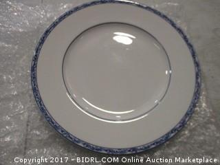 Ralph Lauren Mandarin Blue Dinner Plate Please Preview