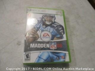 2-XBOX 360 Madden and NCAA Football