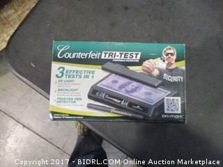 Counterfeit Tri-Test Portable Detector