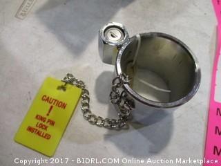 Steel King Pin Lock