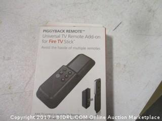 Piggyback Remote add on for Fire TV Stick