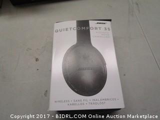 Bose Quiet Comfort 35 Acoustic Noise Canceling Wireless Headphones