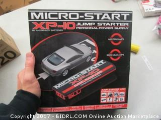 Micro Start Jump Starter XP 10 Personal Power Supply
