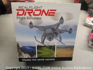 Real Flight Drone Flight Simulator with Interlink Elite Controller