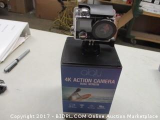 4K Action Camera Dual Screen