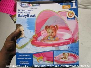 Retractable Sunshade Baby Boat
