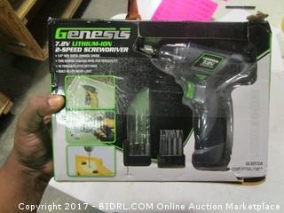 Genesis Power Screwdriver