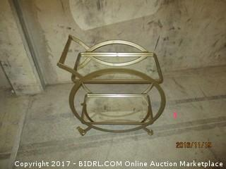 World Market Asher 2 tier Bar Cart Please Preview