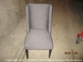 World Market Lawford Chair : Herringbone charcoal Please Preview