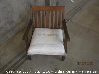 World Market St Martin OCC Chair With Cushion Please Preview