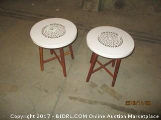 2-World Market Outdoor Tables Please Preview+