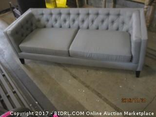 World Market Kendall Fog Sofa Woven Please Preview