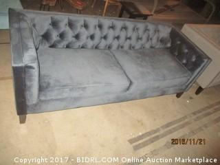 World Market Kendall MDNT BL Sofa  Please Preview
