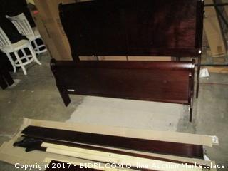 Signature Full Sleigh  Headboard/Footboards, rails MSRP $450.00 Please Preview