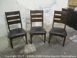 Signature 3 Chairs MSRP $750.00 Please Preview
