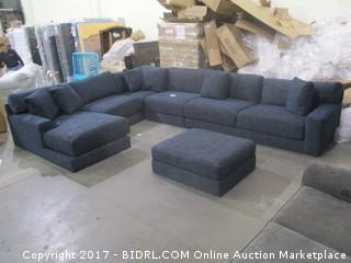 Sectional Sofa with Ottoman MSRP $8210.00 Please Preview