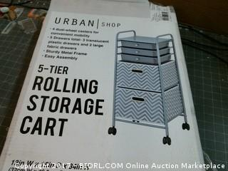 Rolling Storage Cart Please Preview