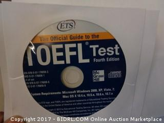 The Official guide to the Toefi test CD