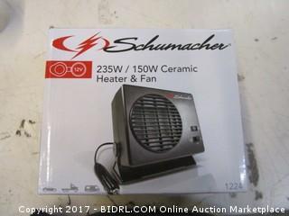 Ceramic Heater & Fan Please Preview