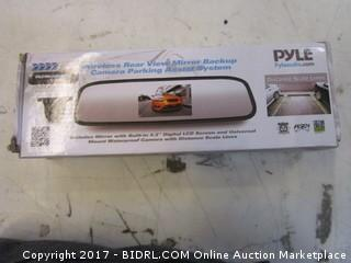 Pyle Wireless Rear View Mirror back up Camera parking Assist system Please Preview
