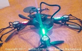 Quad Copter Powers on Please Preview